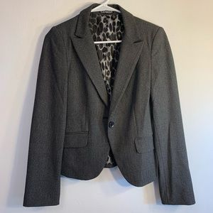 Express *Black and Grey Blazer